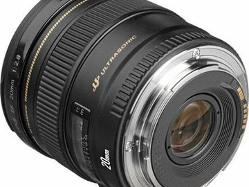 Rent: Canon EF 20mm f/2.8 USM