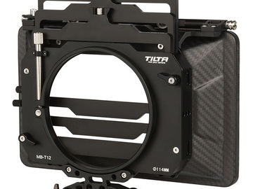 Rent: Tilta T12 3-stage 4x5.6 Clip-on Matte Box