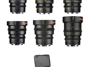 Rent: Veydra Micro 4/3 Mini Prime 6 Lens Master Set