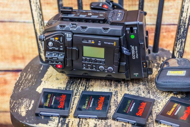 Blackmagic  URSA Mini Pro 4.6K Camera with new bmraw format