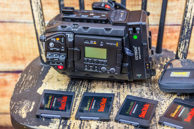 Blackmagic  URSA Mini Pro 4.6K Camera with new bmraw format