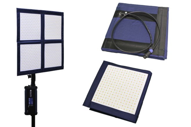 LiteCloth LC-160 - 2'x2' Foldable LED Litemat Kit