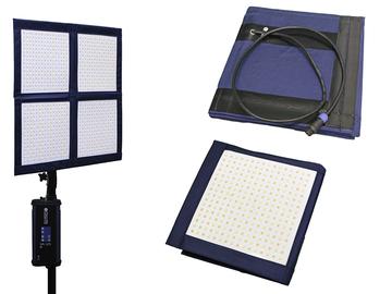 Rent: LiteCloth LC-160 - 2'x2' Foldable LED Mat Kit