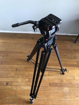 Manfrotto 501HDV Video Head and Tripod