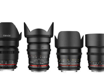 Rent: Rokinon Cine DS Lens Set 16mm 35mm 50mm 85mm