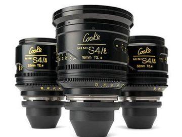 Rent: Cooke S4/i 6 MINI Prime Lens Set (2-Day Minimum)