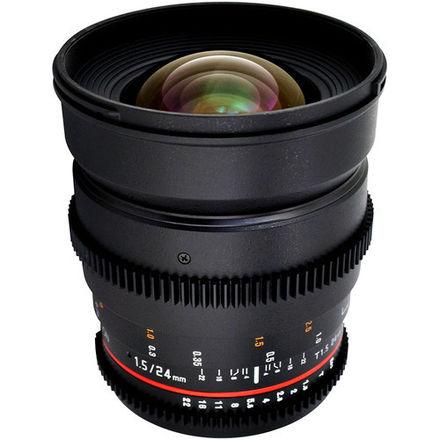 Rokinon  T1.5 Cinema Prime Lens Set: 24mm, 35mm, 50m, 85mm