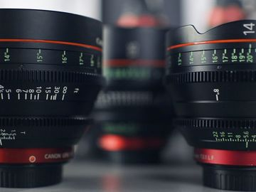 Rent: Canon Prime Lens Package