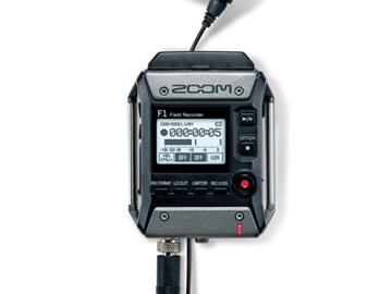 Rent: Zoom Recorder (F1) + Lavalier (LP)