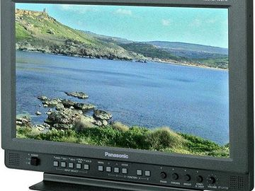 "Rent: Panasonic BT-LH1760 17"" Broadcast Monitor"