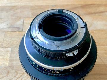 Rent: Nikon 105mm f1.8 AIS Super Speed Nikkor Cine-Mod Prime Lens