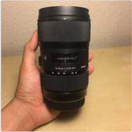 Sigma 18-35mm f/1.8 DC HSM Art MINT