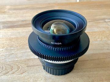 Rent: Nikon 18mm f3.5  AIS Super Speed Nikkor Cine-Mod Prime Lens