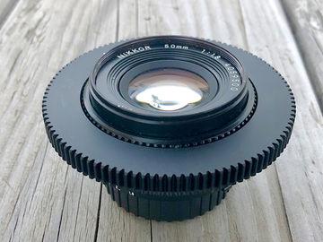 Rent: Nikon 50mm f1.8  AIS Super Speed Nikkor Cine-Mod Prime Lens
