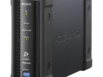 Rent: Sony PDW-U2 XDCam Drive Unit USB 3.0