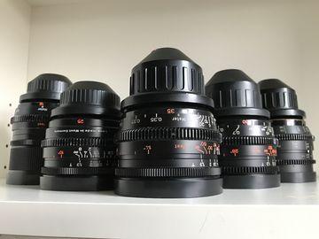 Rent: ZEISS Super Speeds MKII 18/25/35/50/85mm T1.3