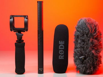 Rent: Rode NTG4+ with Zoom H6 and boom pole & more