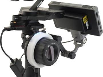 Rent: DJI Osmo RAW X5R, F-Focus, 2 Lenses, Monitor, Car Mount +