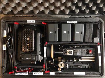 Rent: Blackmagic URSA Mini Pro Kit 2 PL/EF Body with Tripod and FF