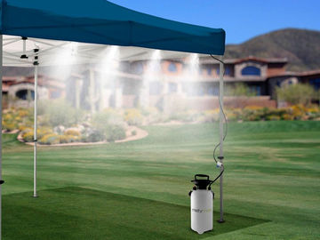 Rent: Portable misting system with water reservoir