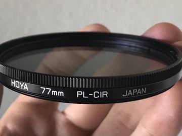 Rent: Hoya 77mm Circular Polarizing Filter