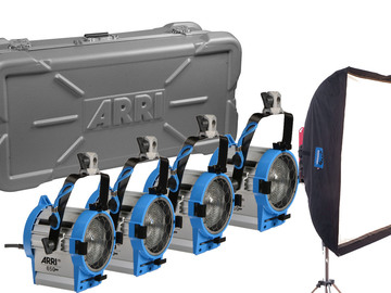650 ARRI LIGHT KIT (4) W/CHIMERA