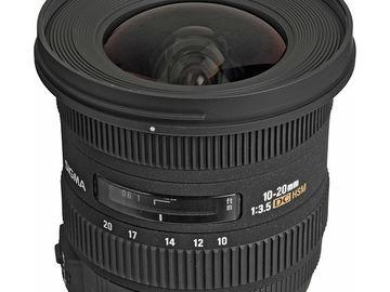 Rent: Sigma 10-20mm f/3.5 EX DC HSM (EF Mount)