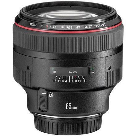 Canon EF 85mm f1.2L II USM Prime Lens  (L-Series) + FILTERS
