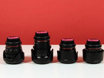 Rent: Rokinon 20, 35, 50, 85mm Cine DS Lens Bundle (Canon EF Mount