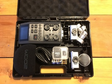Rent: Zoom H6 6-track audio recorder