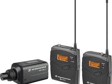 Rent: 2x Sennheiser EW 100 ENG G3 Wireless with Tram Lavalier Mics