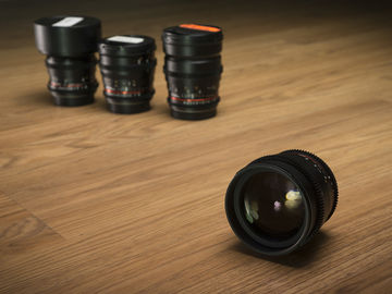 Pick any 2 Rokinon lenses and get 14mm for free