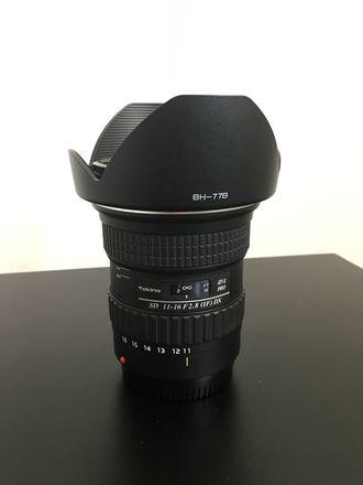 Tokina AT-X 11-16mm f/2.8 116 Pro DX