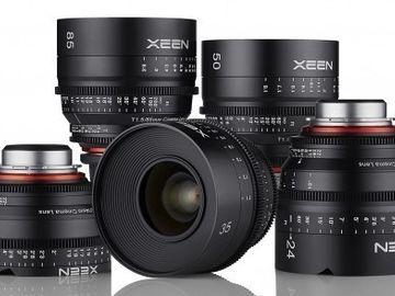 Rent: XEEN 3 Lens Kit for R2S