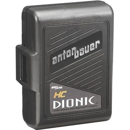 8 Anton Bauer DIONIC HC Battery with quad charger