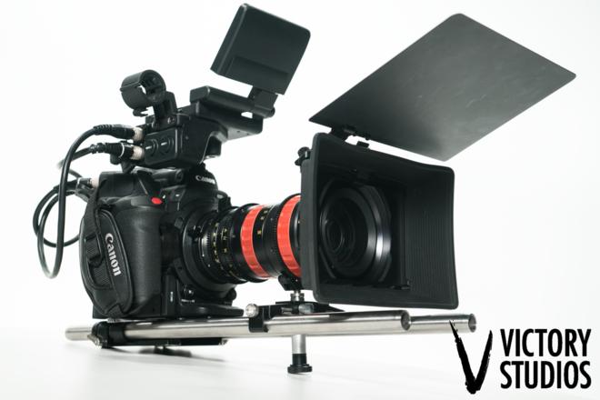 Canon C300 Mark II w/ Angenieux 30-80mm T 2.8 Optimo Zoom