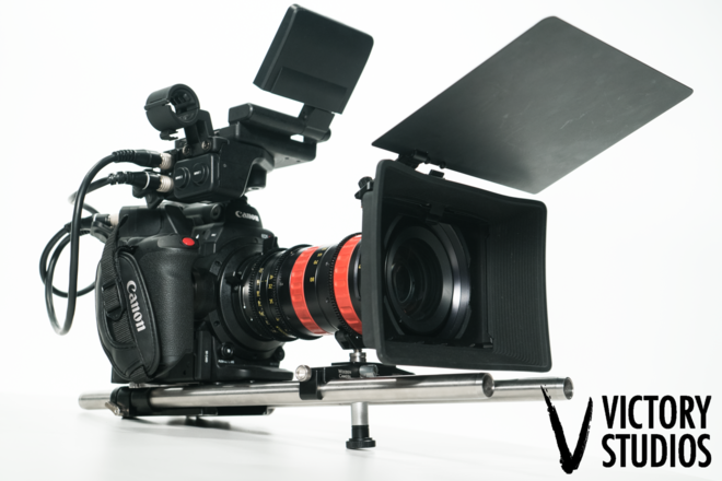 Canon C300 Mark II w/ Angenieux 30-80mm T 2.8 Optimo Zoom