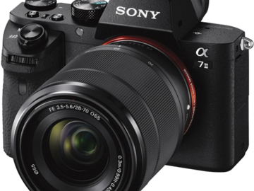Rent: Sony Alpha a7 II Mirrorless Digital Camera