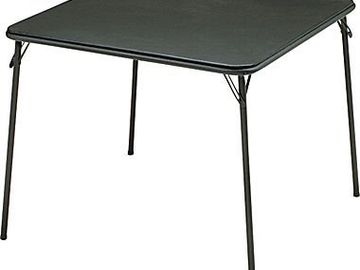 """Rent: 34"""" Folding Card Table"""