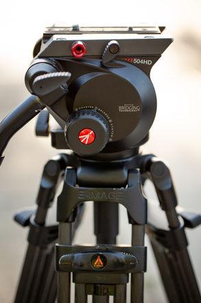 Manfrotto 504HD Tripod Head with E-Image GC752 Legs