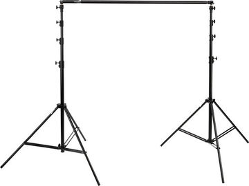 Impact Pro Backdrop Seamless Chroma Green & Black Muslin Kit