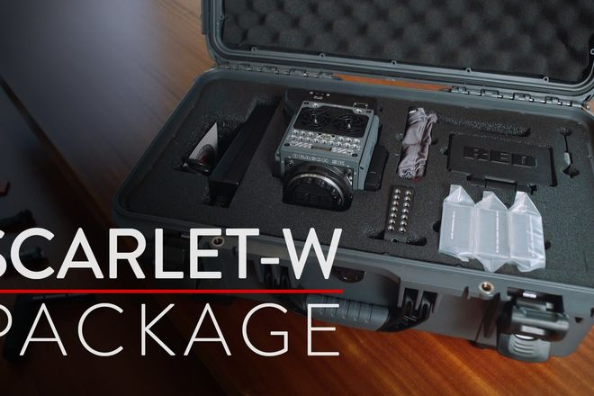 RED Scarlet-W Dragon 5K & lots of extras