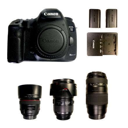 Canon Canon 5D Mark III + Lens Kit