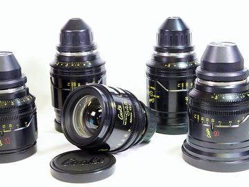 Rent: Cooke Mini S4 Set of 7 Lenses for sale with extras