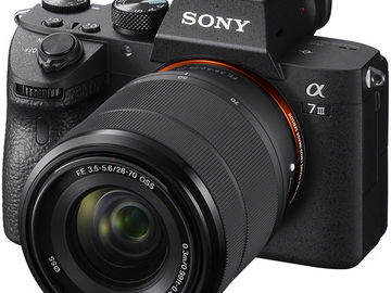 Rent: Sony a7iii Body