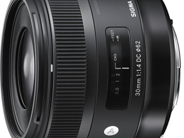 Rent: Sigma 30mm F1.4 Art DC HSM Lens for Canon