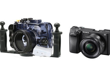 Rent: Sony a6500 w/ Underwater Housing & 16-50mm