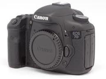 Rent: CANON 7D Camera