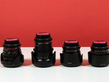 Rent: Cine Prime Lens Set for Canon