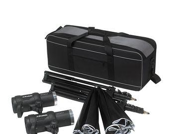 Rent: Profoto D1 500 Studio Kit (2 heads + 2 Umbrellas + 2 stands)